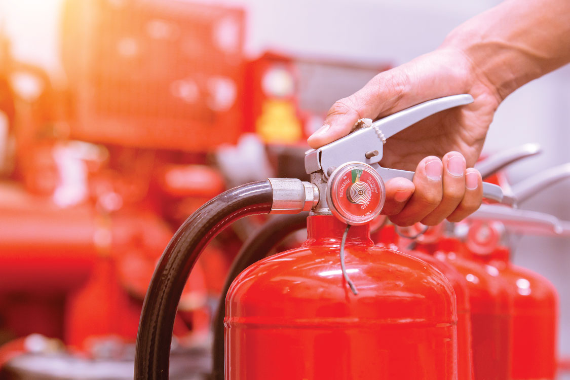 The Different Types of Fire Extinguisher