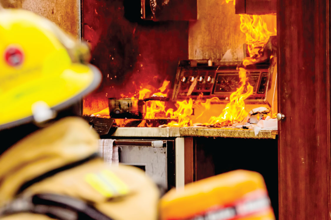 How to Identify and Extinguish Class F Fires