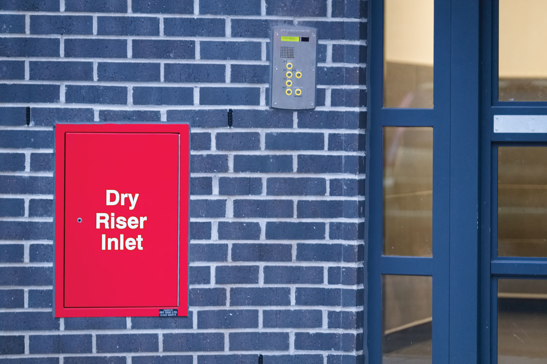 What is a Dry Riser?