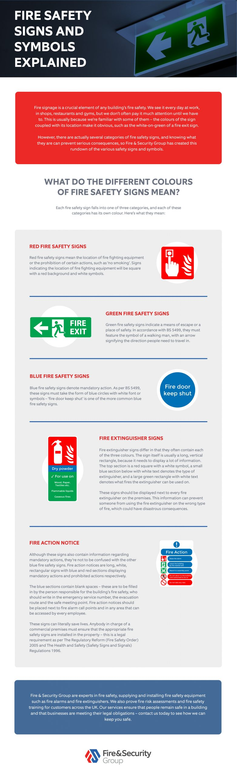 Fire Safety Signs and Symbols Explained